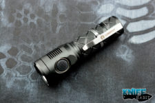 edc lumintop sd mini flashlight, usb rechargeable, 18650 battery, 1000+ lumens