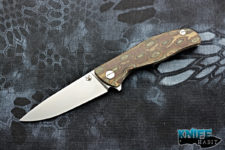 custom igor shirogorov f3 python knife, g10 scales