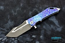 custom ddr darrell ralph dominator xi knife, v4, mokuti handle