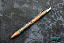 custom darrel ralph ddr go pen copper, patina tactical pen