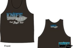 knife habit custom knives men's tank top