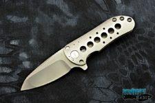 custom direware t-95 knife, multi-ground bohler m390 blade steel